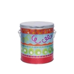 One Gallon Popcorn Tin Pail - Fiesta