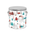 One Gallon Popcorn Tin Pail - Walk in the Woods