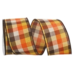 Wired Country Field Plaid ribbon