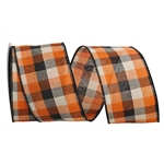 Wired Afternoon Plaid ribbon