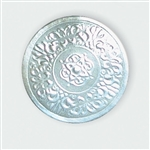 "2"" Silver Embossed Medallion Seals"