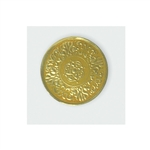 "1-1/4"" Gold Embossed Medallion Seals"