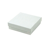 Medium White Swirl Jewelry Boxes