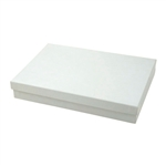 Large White Swirl Jewelry Boxes