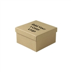 Hot-Stamp Printed Kraft Jewelry Boxes
