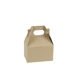 Natural Kraft-Mini Gable Box