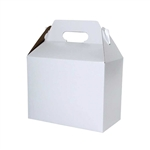 White Gloss Large Gable Boxes
