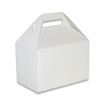 White Gloss Medium Gable Boxes
