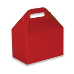 Red Pinstripe Medium Gable Boxes