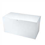 "White Gift Boxes Tuck-It One Piece Pop Up 12"" x 6"" x 6"""