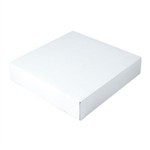 "White Gift Boxes Tuck-It Two Piece Pop Up 12"" x 12"" x 2-1/2"""