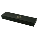 Hot-Stamped Necklace Black Gloss Jewelry Boxes