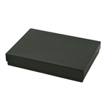 Large Black Pinstripe Jewelry Boxes