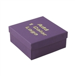 Medium Deep Deep Purple Jewelry Boxes