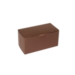 "8"" x 4"" x 4"" Chocolate Brown Cupcake Boxes"