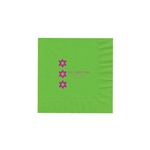 Party Beverage Napkins - Citrus Green