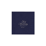 Party Beverage Napkins - Navy Blue