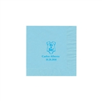 Party Beverage Napkins - Pastel Blue