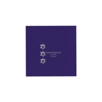Party Beverage Napkins - Purple