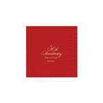 Party Beverage Napkins - Red