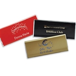 Custom Hot Stamp Printed Candy Bar Wrappers
