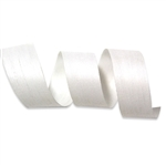White Smooth Cotton Curling Ribbon