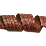 Christmas Chambray Cotton Curling Ribbon