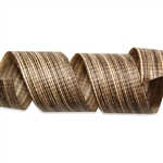 Mocha Chambray Cotton Curling Ribbon