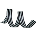 Black Stripes Cotton Curling Ribbon