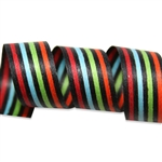 Metro Stripes Cotton Curling Ribbon