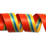 Summer Stripes Cotton Curling Ribbon