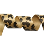 Leopard Cotton Curling Ribbon