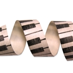 Piano Keys Cotton Curling Ribbon