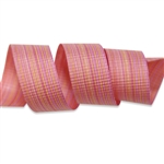 Coral Chambray Cotton Curling Ribbon