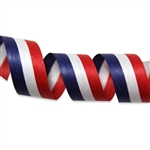 Patriotic Stripes Cotton Curling Ribbon