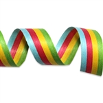 Bright Stripes Cotton Curling Ribbon