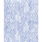 Light Blue Victorian Lace Florist Cello Rolls