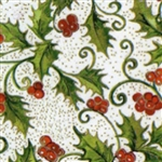 Wholesale Floral Counter Rolls - Holly Berry