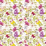 Wholesale Floral Counter Rolls - Jardin Floral