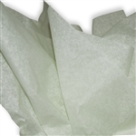 Pale Mint Colored Tissue Paper