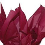 Burgundy  Colored Tissue Paper