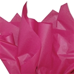Cerise Pink Colored Tissue Paper