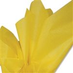 Dandelion Yellow Colored Tissue Paper