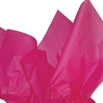 Hot Pink Colored Tissue Paper