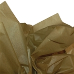 Olive Green Colored Tissue Paper