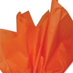 Orange Colored Tissue Paper
