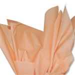 Peach Colored Tissue Paper