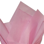 Pink Colored Tissue Paper