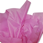 Raspberry Fizz Pink Colored Tissue Paper