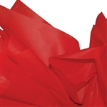 Scarlet Red Colored Tissue Paper